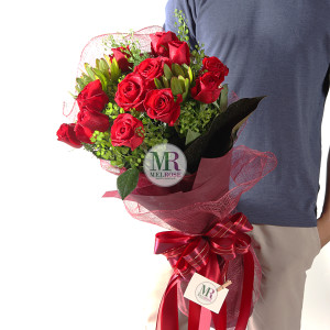 Heartfelt Red Rose Bouquet
