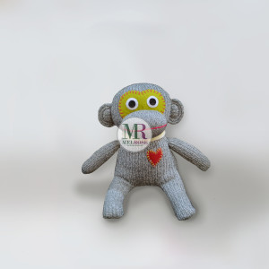 Monkey Doll Grey/Green