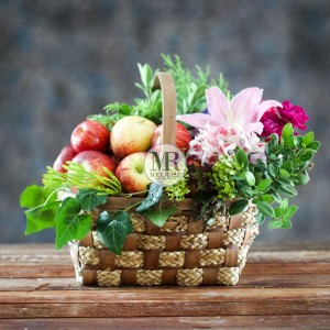 Graceful Fruit Basket