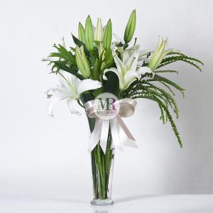 Elegance Lily Flower Vase