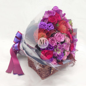 Very Berry Hand-tied Bouquet