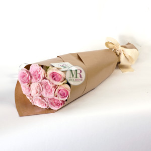 Romantic Pink Hand-tied Bouquet