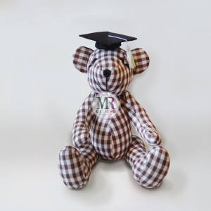Brown Bear with Graudation Hat