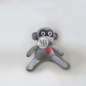 Monkey Doll Grey/Black
