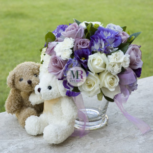Together in Violet Vase