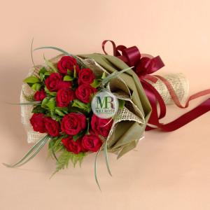 ช่อกุหลาบ With Love Rose Bouquet