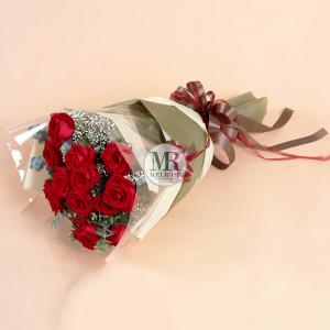 ช่อกุหลาบ Thank you for Your Love Rose Bouquet
