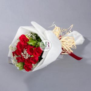 ช่อกุหลาบ Only You Rose Bouquet