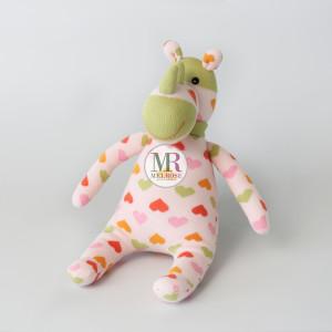 Pink Rhino Doll